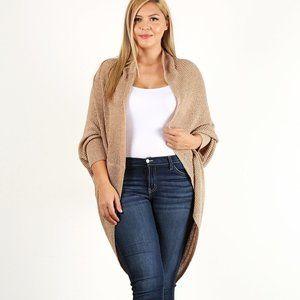 Sweaters - 🔥💥Beige Plus Size Cardigan!🔥💥